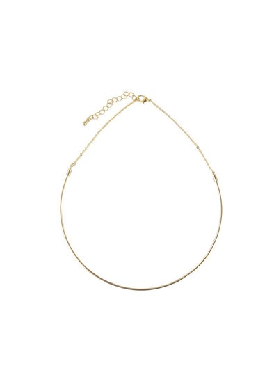 Wire collar necklace from Five-and-Two