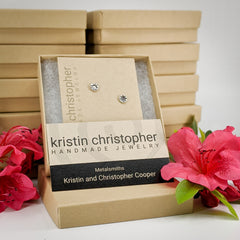 Kristin Christopher earrings and boxes