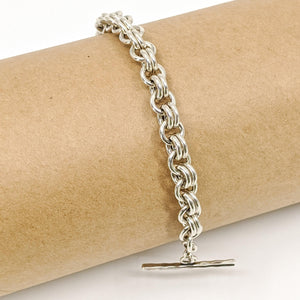 Sterling Silver Chain Mail Bracelet