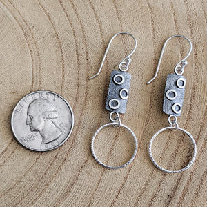 Sterling Silver Earrings with Hoops,Earrings,Kristin Christopher