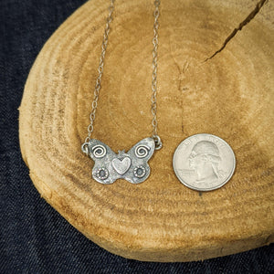 Mantra - Sterling Silver Necklace