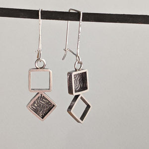 Sterling Square Earrings,Earrings,Kristin Christopher
