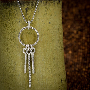 Sterling silver necklace by Kristin Christopher