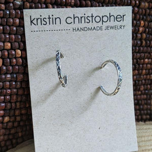 Sterling Post Hoop Earrings  - Special Order,Earrings,Kristin Christopher