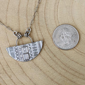 One-of-a-kind Sterling Silver Necklace,Pendant,Kristin Christopher - Handmade Jewelry