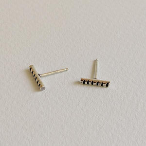 Sterling Silver Stud Earrings - Bars,Earrings,Kristin Christopher