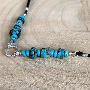 Sterling Silver and Turquoise Necklace - Special Order,Pendant,Kristin Christopher