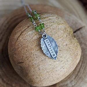 Mantra - Sterling Silver Necklace,Pendant,Kristin Christopher