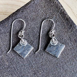 Sterling Silver Earrings with Tiny Sprials,Earrings,Kristin Christopher