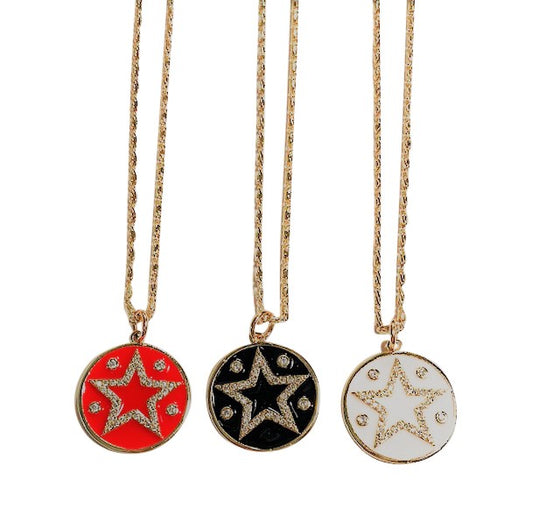 Cosmic Star Necklace
