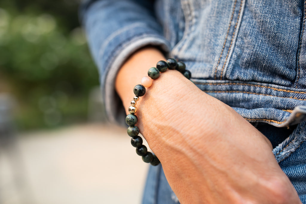 Cancer Support Sonoma Beaded Bracelet - meghan-bo-designs