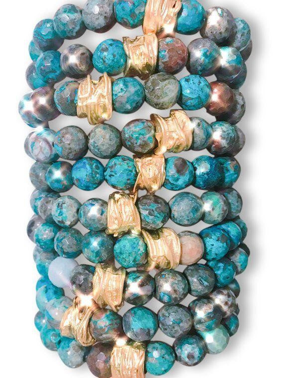 *Free Shipping* Stretch Bracelets of the Ocean
