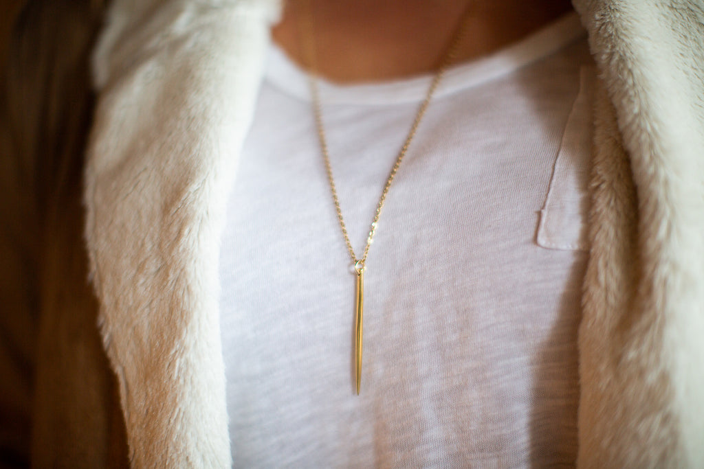 Valor Spike Necklace - meghan-bo-designs