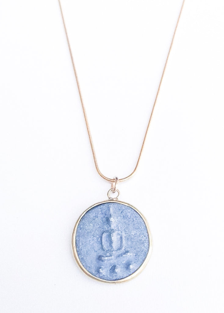 Vintage Buddha Necklace - meghan-bo-designs