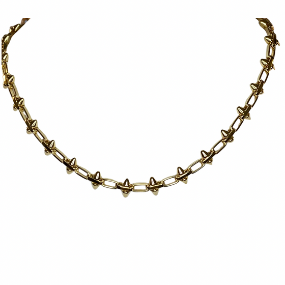 Dame Spiked Necklace