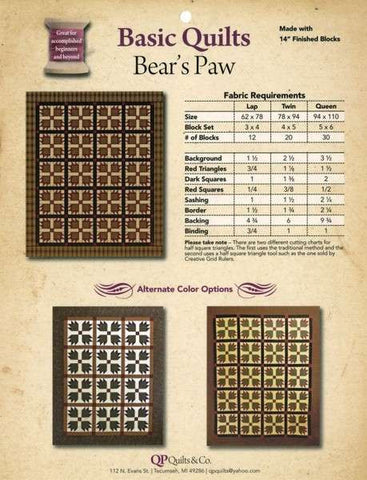 Basic Quilts - Bear's Paw