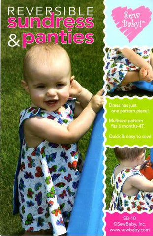 Reversible Sundress & Panties - SEW010