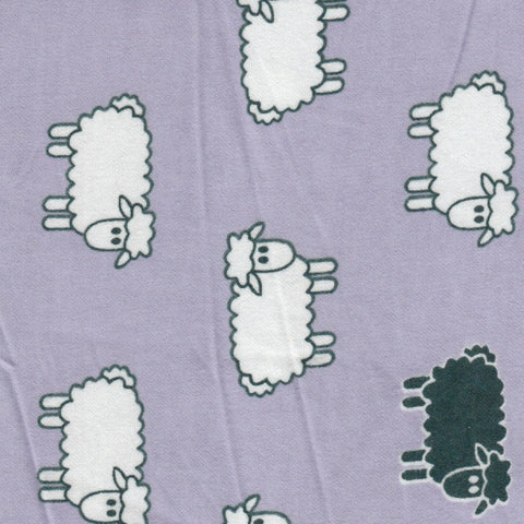 AP-Sheeps Lavender Flannel