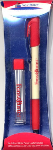 Fons & Porter Mechanical Fabric Pencil With White
