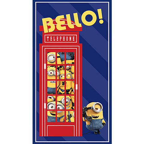 "BRITISH INVASION BELLO! TELEPHONE PANEL (24"") 24311 -N"