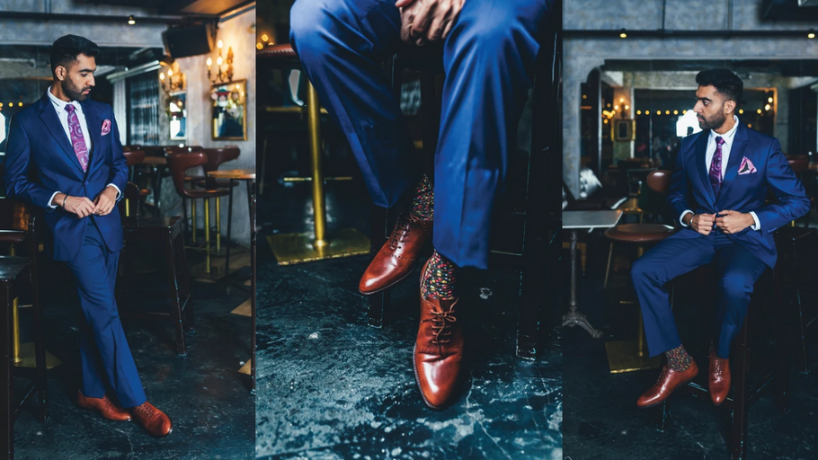 How to Pick the Right Shoes for Any Colored Suit
