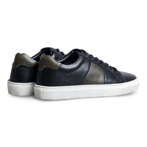 Cherno Black Leather Sneaker-2
