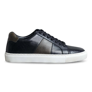 Cherno Black Leather Sneaker-1