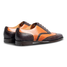 Chocolatto Leather Brogue Shoe-2