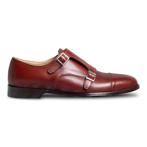 Ciliego Double Monk Straps Shoe-1