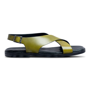 Pelle Verdo Men Leather Sandal-1