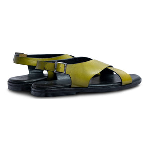 Pelle Verdo Men Leather Sandal-3