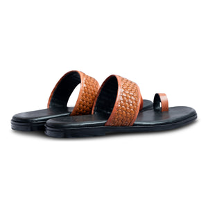 Pelle Liscio Leather Chappal-2