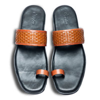 Pelle Liscio Leather Chappal