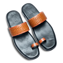 Pelle Liscio Leather Chappal-3