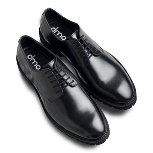 dmodot classic black leather derby