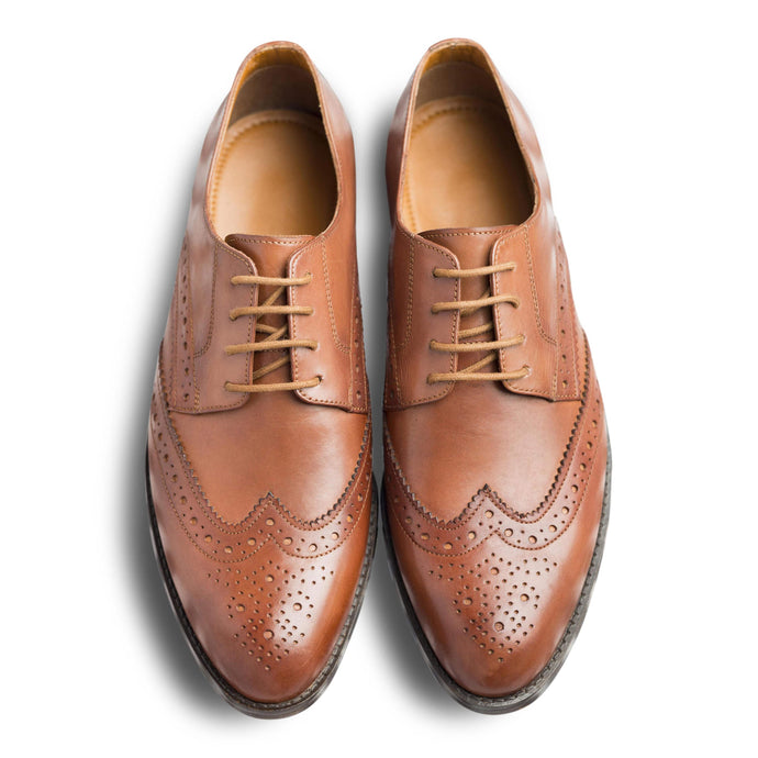 dmodot classic tan leather brogues