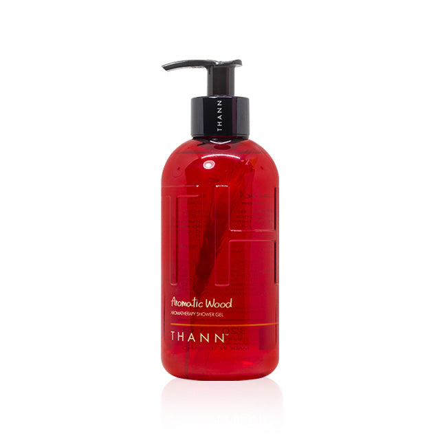 THANN Aromatic Wood Aromatherapy Shower Gel