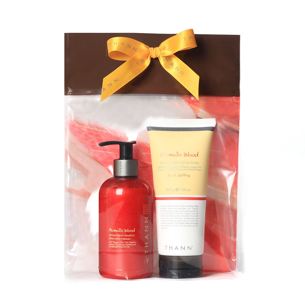 Aromatic Wood Hair Care Gift Set ($49 Value) - THANN USA