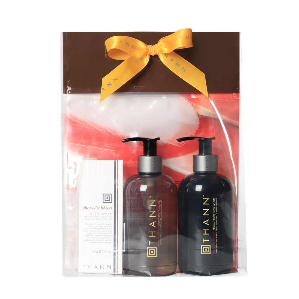 Aromatic Wood Hand Care Gift Set ($72 Value) - THANN USA