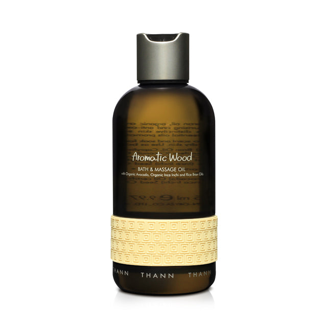 Aromatic Wood Bath & Massage Oil - THANN USA