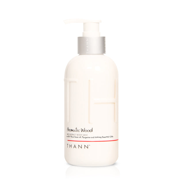 Aromatic Wood Body Milk - THANN USA