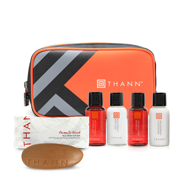Mini Aromatic Wood Travel Set (Orange) - THANN USA