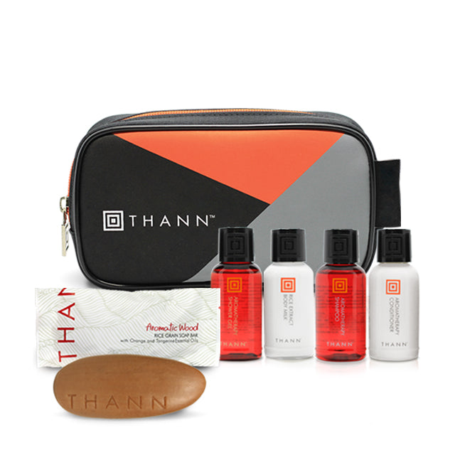 Mini Aromatic Wood Travel Set (Black) - THANN USA