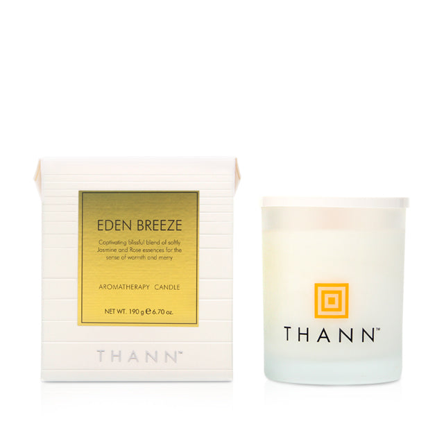 Eden Breeze Aromatherapy Candle - THANN USA