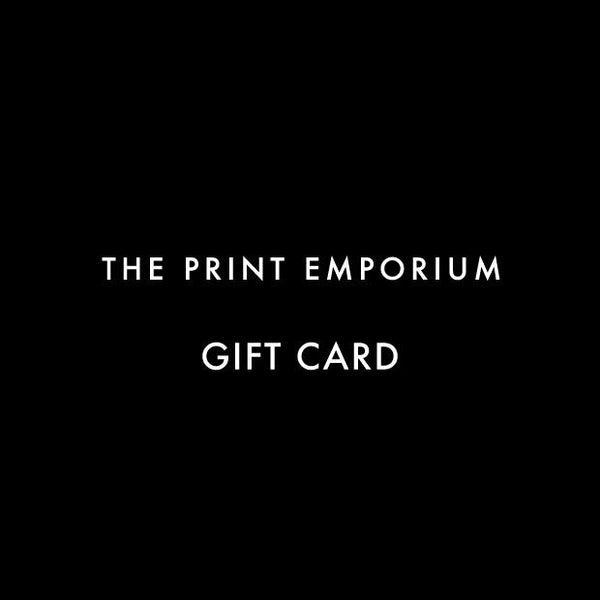 Gift Card-Gift Card Voucher Certificate Birthday Christmas Holiday Gift Idea-The Print Emporium-The Print Emporium wall art prints Australia-