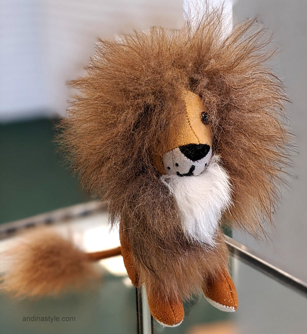 Handmade Lion Stuffed Animal