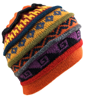 Alpaca Beanie Multi-Color