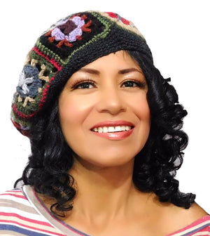 Handmade Beret Multi-Color