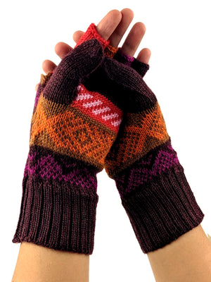 Alpaca  Gloves Convertible Mittens