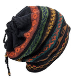 Alpaca Beanie Black Multi One Size
